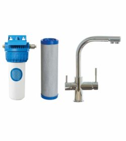 Complete Set Undersink Water Filter Tap Verona (WW-10)