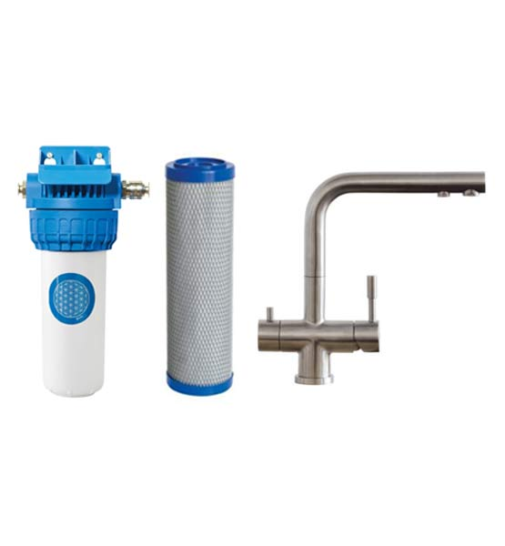 Complete Set Undersink Water Filter Tap Florenz (WW-17)